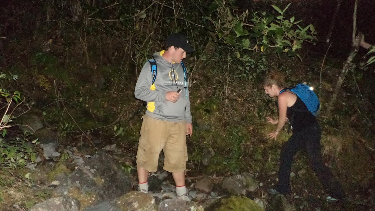 tour de noche en el Volcán Baru