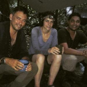 Rick Morales de Jungletreks y Jorge Lopez de Baruexpeditions