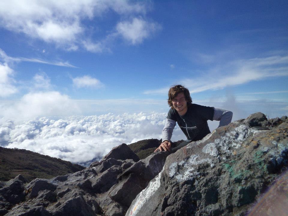 Gary en el Volcán Baru