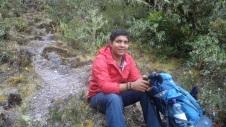 Jorge Lopez guía del Volcán Baru