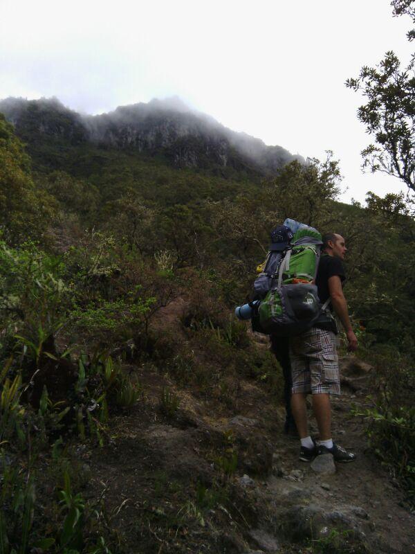 sorprendido por la belleza del Volcán Baru