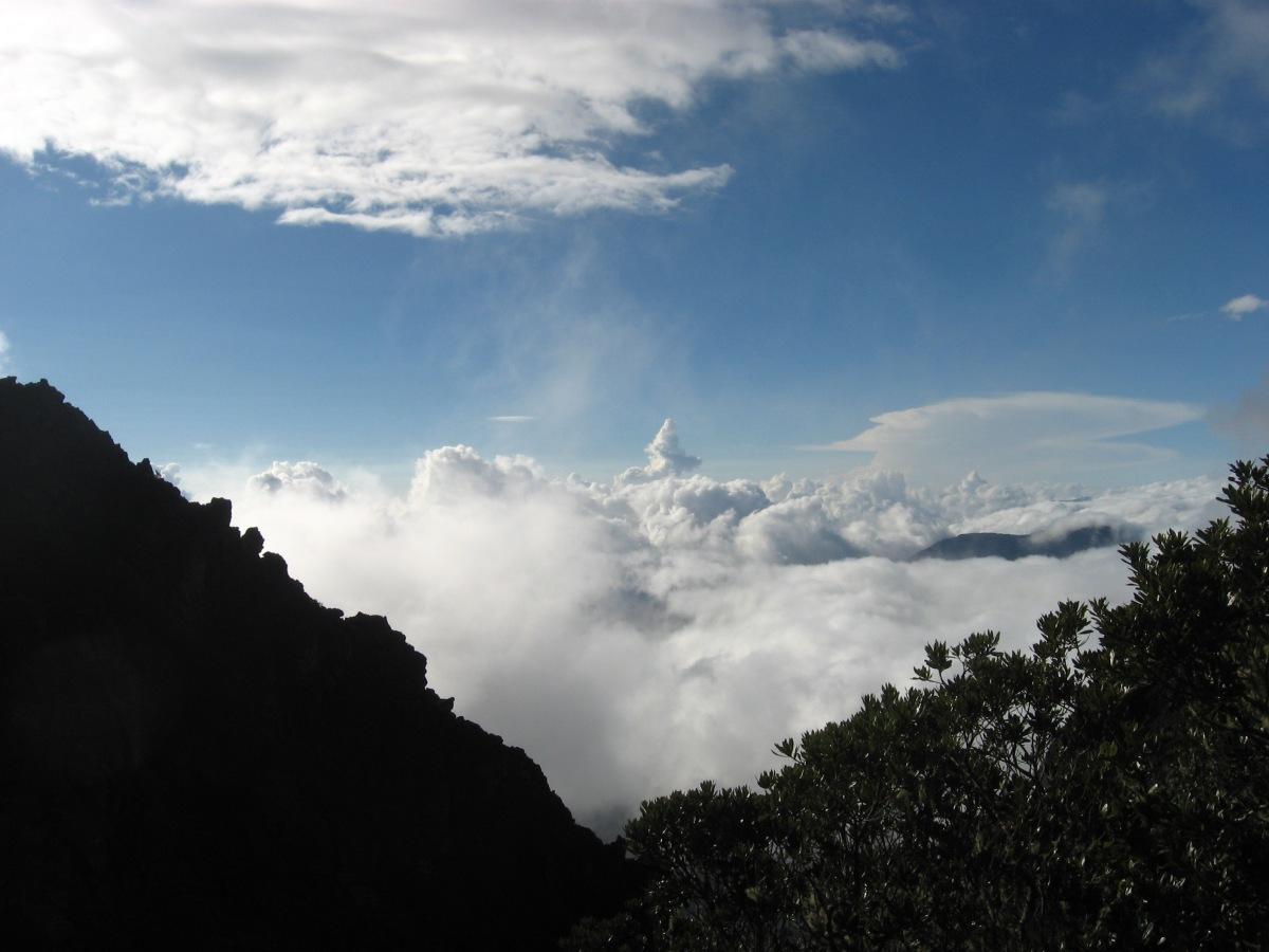 CRATER DEL Volcán Baru