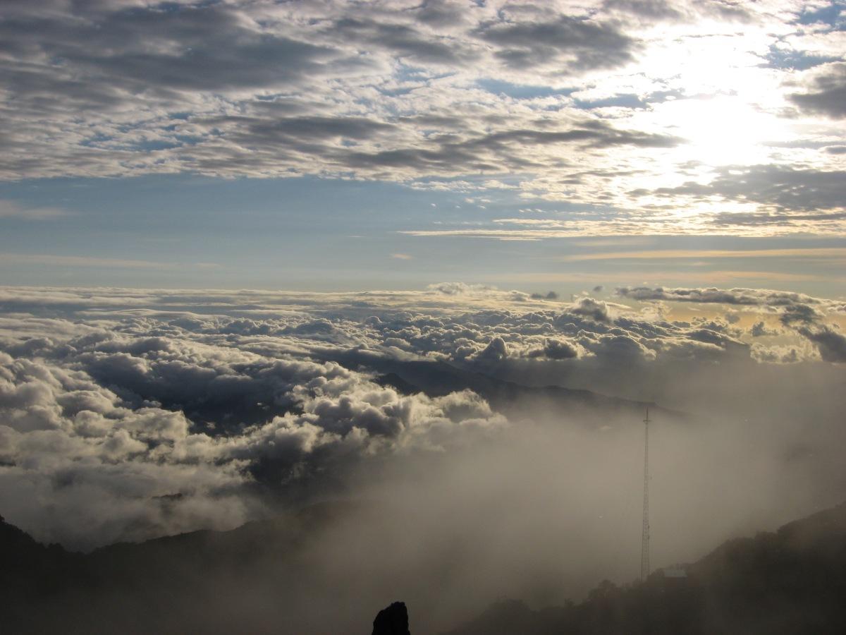 NUBES DEL Volcán Baru