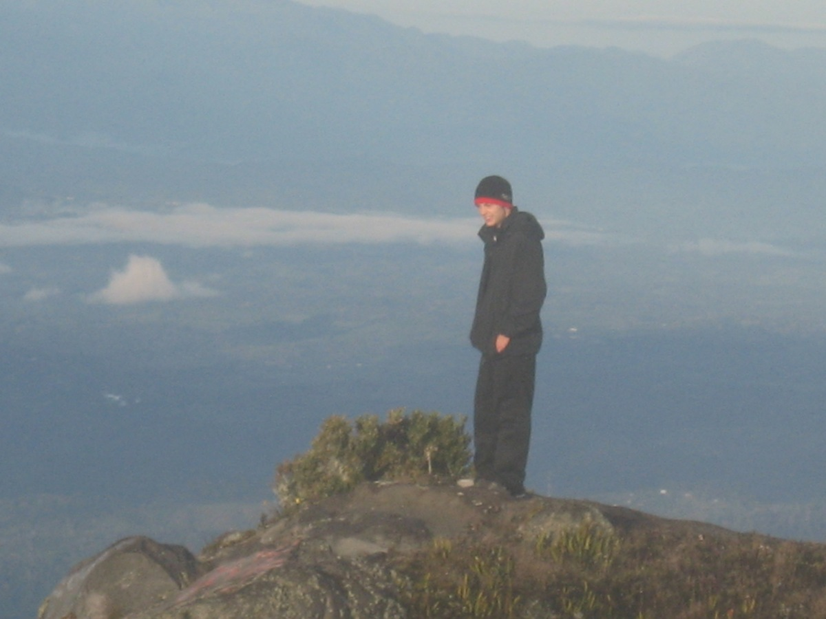 an awesome view from the peak of the Volcano Baru